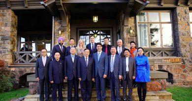 杜魯多會見訪加中國企業傢俱樂部代表團