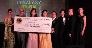 第9屆新里程慈善晚宴 為防癌協會籌三萬善款