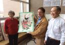 二百位楓華老年聯誼會會員辦聯歡會迎新春