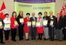 眾多華裔社會服務機構獲頒義工獎