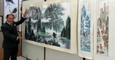 安省中國美術會舉辦知名資深會員作品專展