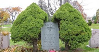 松山墓園:一碑二主的張國燾墓