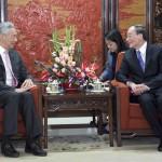 王岐山告诉李显龙 解决中共腐败是世界难题