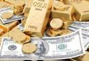 股市动荡, 黄金行情向好