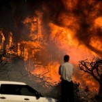 加州山火凶猛 明星豪宅遭殃