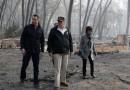 加州山火79遇难1300失踪!特朗普视察遭抗议