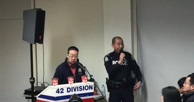 """多伦多警局42分局在华人社区举办""""防治入室盗窃""""专项讲座"""