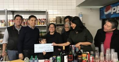 黃江夏雲山公所爲鄰里食物銀行募捐,幫助當地華社