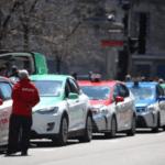 抗议政府:魁省出租车司机周一大罢工