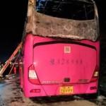 中國再傳重大事故 湖南常德火燒車26死