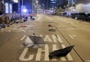 风暴后的宁静: 香港示威民众72人受伤