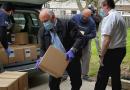 省議員白必勤與全球醫援會捐贈650磅食物予食物賙濟庫