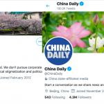 推特给国家相关媒体和政府官员账号贴上标签
