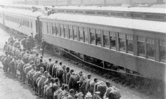 1917-1918,行驶在加拿大的神秘列车 一战中国劳工过境加拿大纪实